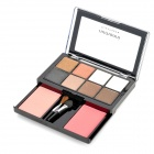 Cosmetic Makeup 8-Color Eye Shadow + 2-Color Blusher Set