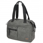 Stylish Canvas One Shoulder Camera Bag for Woman - Grey