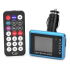 "1,8 ""LCD Auto MP3 / MP4 Player FM Transmitter w / USB / TF-Slot - Schwarz (DC 12 ~ 24V)"