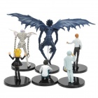 Death Note Yagami Light Ryuk Near Kira Misa L Figures Set (6-Piece)