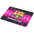 Barcelona Sporting Club Logo Rubber Mouse Pad - Purple + Black