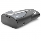 XRS9740 Russian 360 Degree Digital Radar Laser Detector - Black + Grey (Time & Speed Display)