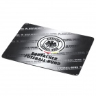 Germany National Football Team Logo Rubber Mouse Pad - Black + White