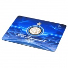 Internazionale Logo Rubber Mouse Pad - Blue