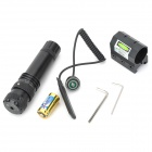 Armed Forces Green Laser Sight Module with Gun Mount (20mW 532nm CR123A Included)