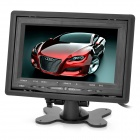 "7 ""TFT LCD Auto Monitor mit Standfuß Video Remote Controller - Black"