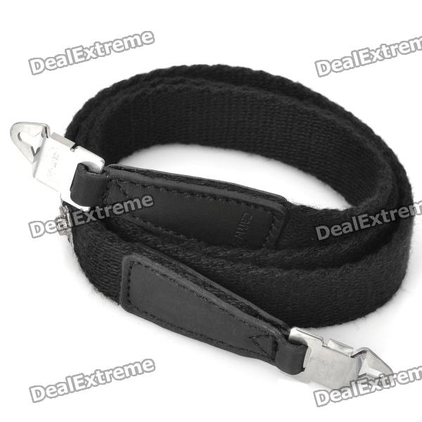 Stylish Neck Sling Strap for Hasselblad Camera - Black