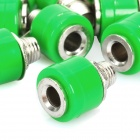Speaker Amplifier Banana Jack Socket Connectors - Green (20-Piece Pack)