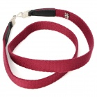 Stylish Neck Sling Strap for Hasselblad Camera - Purple Red