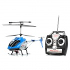 R108 40MHz Rechargeable 3-CH R/C Helicopter with Radio Controller - Blue + Silver + Black