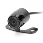 656 x 492 Pixel Waterproof Car Rearview Camera - Black
