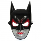 Cosplay Hard Plastic Catwoman Full Face Mask - Black