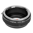 FOTGA Canon EOS Lens to Sony NEX Adapter Ring - Black