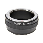 FOTGA Contax Yashica C/Y Lens to Sony NEX Adapter Ring - Black