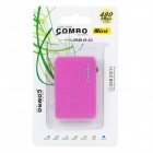 Mini COMBO USB 2.0 SD / MicroSD / TF / MS / M2 Card Reader w/ 3-Port HUB - Deep Pink (32GB)