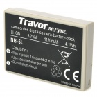 Genuine Travor NB-5L 3.7V 1120mAh Battery Pack for Canon Digital IXUS 800 IS + More