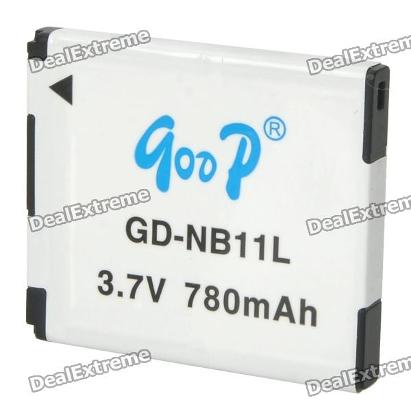 GOOP NB-11L Replacement 3.7V 780mAh Battery Pack for Canon IXUS 125HS / IXUS 240 HS / A2300 + More bp 208 compatible 850mah battery pack for canon mvx1sidc10 dc20 more