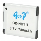 GOOP NB-11L Replacement 3.7V 780mAh Battery Pack for Canon IXUS 125HS / IXUS 240 HS / A2300 + More