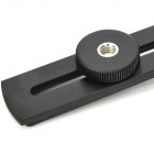 Metal Bracket Stand Holder for Flash Speedlight - Black