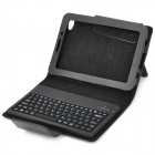Bluetooth Wireless Keyboard Carrying Case w/ Stand for Samsung P6800 - Black