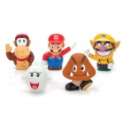 Cute Super Mario Figure PVC Dolls Toys Set (5-Piece Pack)