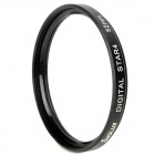 Emolux 52mm 4 Point Star Filter - Black