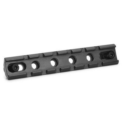 20mm Aluminum Alloy Tactical Gun Rail Mount - Black