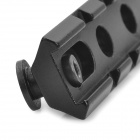 20mm Aluminium Alloy Tactical Gun Rail Mount - Svart