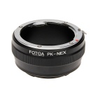 FOTGA Pentax Lens to Sony NEX Adapter Ring - Black