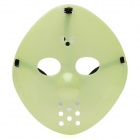Glow-in-the-Dark Halloween Jason Full Face Mask - Green