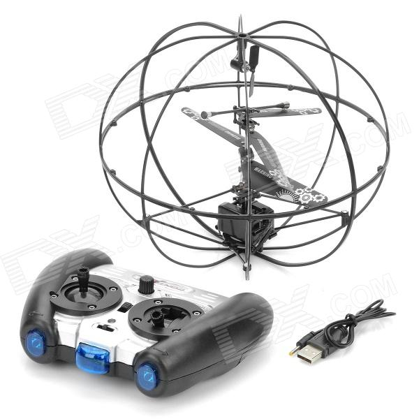 777-286 3-CH Infrared Remote Control Robotic UFO Mini Flying Ball with Gyro