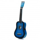 6-String Acoustic Guitar - Blue