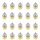 Speaker Audio 4mm Banana Jack Socket Connectors - Yellow (20-Piece Pack)