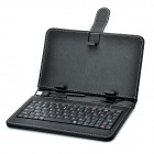 Protective PU Leather Keyboard Carrying Case with Stand & Stylus for 7
