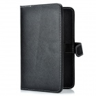 "Protective PU Leather Keyboard Carrying Case with Stand & Stylus for 7"" Tablets - Black"