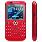 "Q99 GSM Qwerty Bar Telefon W / 2,0 ""-Bildschirm, Quad-Band, Dual-SIM-, Wi-Fi und TV - Red"