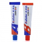 Kafuter Heavy Duty Transparent A+B Adhesive Glue (Pair)