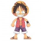 DIY T-Shirt Iron-On Transfer Sticker - One Piece Monkey D. Luffy