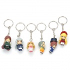 Cute Rozen Maiden Anime Figure Keychain Set (6-Piece)