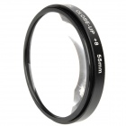 Emolux 55mm Close Up +8 Filter - Black