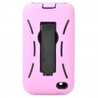 Cool Robot Style Full Protection Protective Case for iPod Touch 4 - Pink + Black