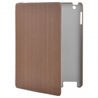 ROCK Gentry Series Protective PU Leather Case for Ipad 2 / The New Ipad - Coffee