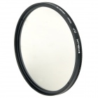 Emolux 72mm CPL Circular Polarizer Lens Filter - Black