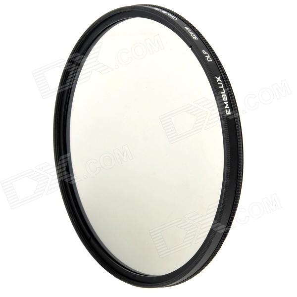 Emolux 82mm CPL Circular Polarizer Lens Filter - Black benro 82mm pd cpl filter pd cpl hd wmc filters 82mm waterproof anti oil anti scratch circular polarizer filter free shipping