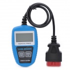"2.0"" LCD CAN OBDII EOBD Scanner Code Reader Car Diagnostic Scan Tool - Blue"