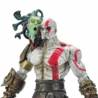 God of War 2 PVC Action Figure Display Toy Doll - Kratos with Medusa Head