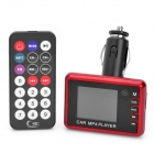 "1,8 ""LCD-Auto MP3/MP4 Player FM Transmitter w / Fernbedienung / MMC / SD - Rot"