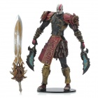 God of War 2 PVC Action Figure Display Toy Doll - Kratos in Ares Armor with Blades
