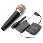 PEGA Wireless USB Karaoke Microphone for Wii and PS3