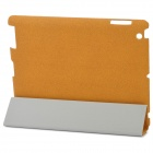 ROCK Eternal Series Protective PU Leather Case for Ipad 2 / The New Ipad - Orange